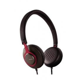 PHILIPS SHL5500 Casque noir/rouge