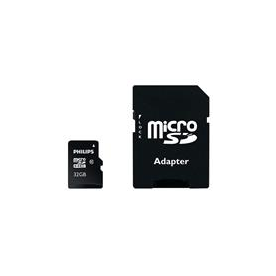 Carte Mémoire Carte micro SD PHILIPS