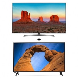 Téléviseur 4K écran plat LG - 65UK6750PACK 65UK6750PACK
