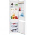 Réfrigérateur intégrable combiné BEKO BCSA285K3SFN